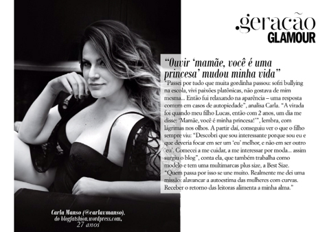 Entrevista Carla Glamour